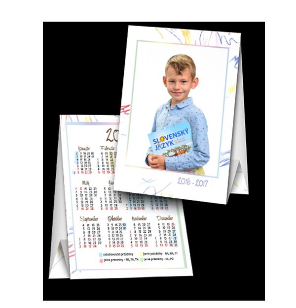 Fotostojanček s kalendárom